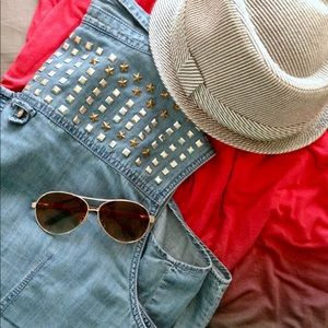 Embellished Chambray Button Down
